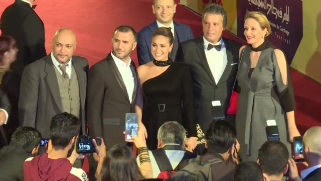 the tunisian film noura reve by director hinde boujemaa won the golden tanit at the closing ceremony of the 30th edition of the carthage film... - carthage tunisia stock videos & royalty-free footage