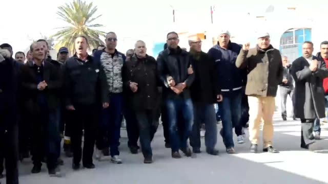 The Tunisian town of Redyef on Tuesday held a general strike to call for more employment opportunities and the return of the police who have not had...