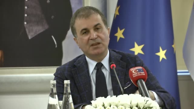The Turkish EU minister blasted the Organization for Security and Cooperation in Europe report on Turkey's constitutional referendum calling it...