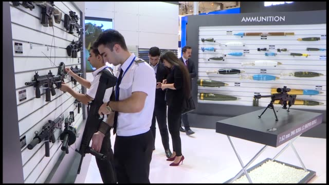 the turkish mechanical and chemical industry company received a defense cooperation offer from azerbaijan's ministry of defense industry the... - legal defense stock videos and b-roll footage
