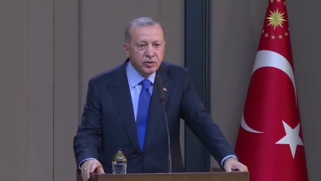the turkish president on tuesday said the fight against fetullah terrorist organization will be the top agenda item during his meeting with the u.s.... - coup d'état stock videos & royalty-free footage