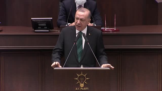 the turkish president reiterated that the only solution to the lingering dispute in cyprus is the two-state model. the world should know that turkey... - failure stock videos & royalty-free footage