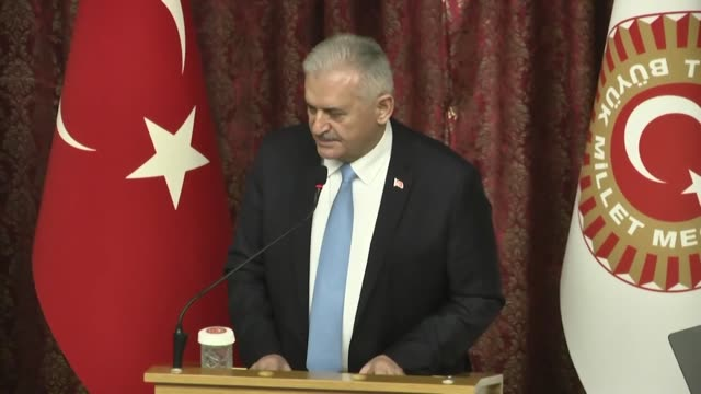 The Turkish ruling party's candidate for mayor of Istanbul is resigning his post as parliament speaker Monday hours from now he announced at a...