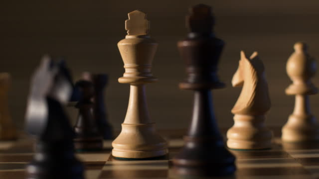 the two kings - chess stock videos & royalty-free footage