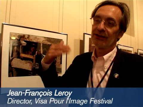 the twoweek international festival of photojournalism opened its doors in the southern french city of perpignan on saturday the event shows off the... - french doors stock videos and b-roll footage