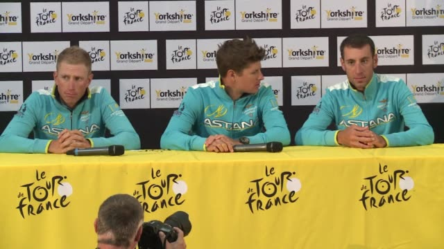 vídeos de stock, filmes e b-roll de the uci world cycling federation on friday called for the withdrawal of the racing licence for the astana team of tour de france winner vincenzo... - abuso de substâncias