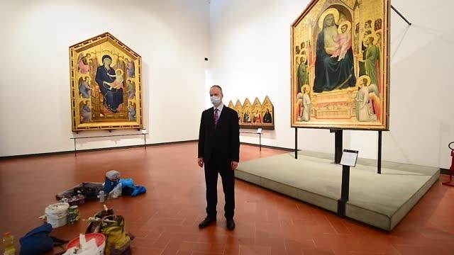 ITA: Uffizi Gallery Curator Eike Schmidt Portrait Session