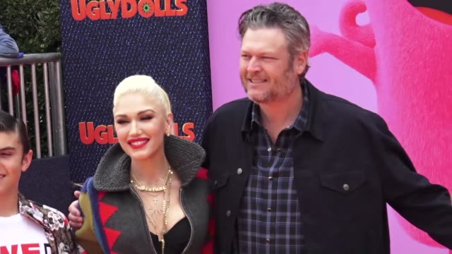 the 'uglydolls' premiere at regal live stadium 14 on april 27, 2019 in los angeles, california. - gwen stefani stock videos & royalty-free footage