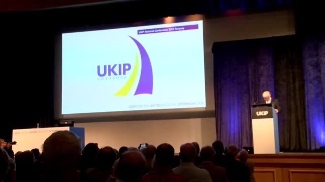 The UK Independence Party votes on a new logo at their conference in Torquay The new design depicts a drawing of a lion in the party's traditional...