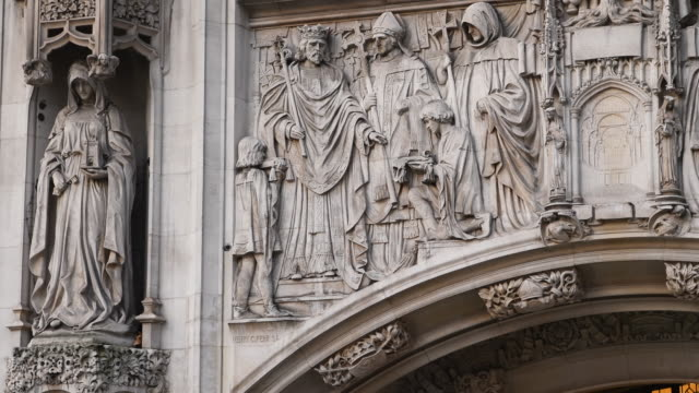 the uk supreme court building on december 06, 2016 in london, england. - justice concept stock videos & royalty-free footage