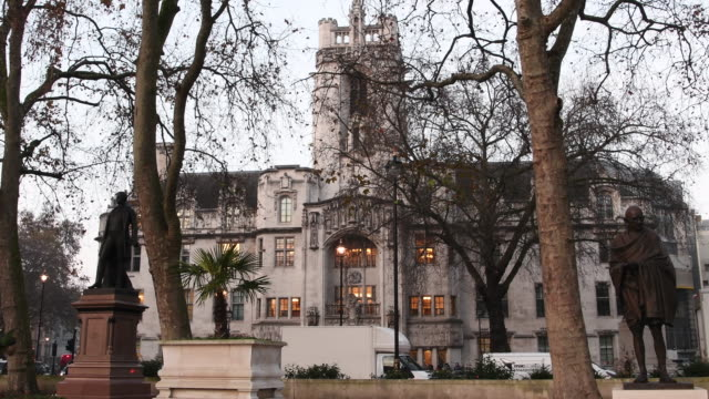 The Uk Supreme Court building on December 06 2016 in London England