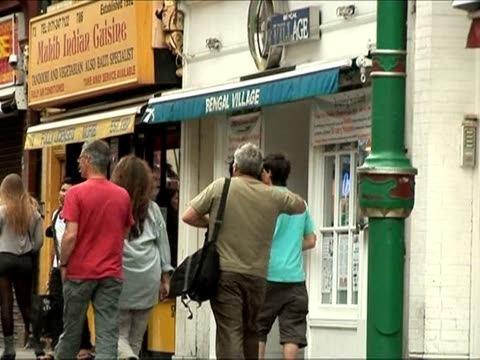 the uk's thriving curry restaurant sector is celebrating the 200th year since the first south asian cafe opened in london. london, greater london,... - greater london stock videos & royalty-free footage