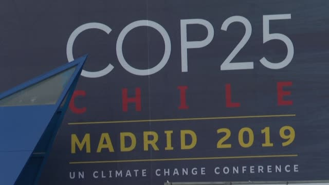the un climate change summit cop25 is due to kick off on 2 december in the spanish capital madrid - climate stock videos & royalty-free footage