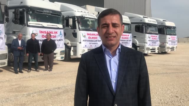 the un on monday dispatched 23 truckload of humanitarian aid to the northwestern syrian province of idlib. the trucks passed through the cilvegozu... - motivation stock videos & royalty-free footage
