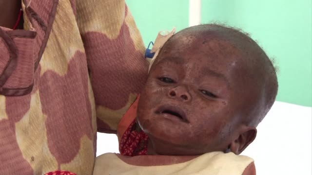 the united nations said wednesday that famine has hit two parts of rebel-held somalia, due to a severe drought affecting more than 10 million people... - horn of africa stock videos & royalty-free footage