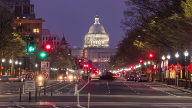 the united states capitol building - government stock videos and b-roll footage