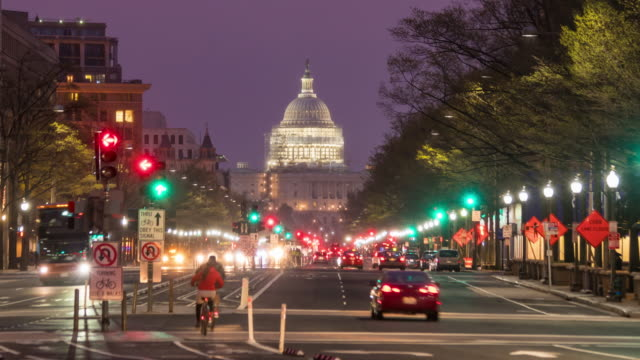 the united states capitol building - capital cities stock videos & royalty-free footage