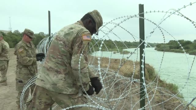 The United States is extending until September 30 the deployment of active duty soldiers and Coast Guard members at the border with Mexico officials...