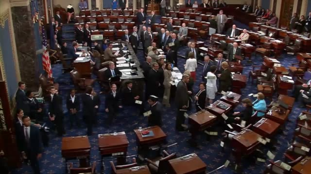 The United States Senate votes 5344 to again reject a bill withholding federal grants to sanctuary cities for noncompliance with deportation...
