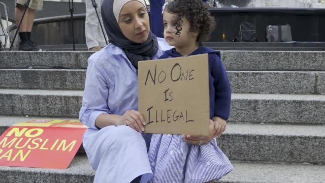 the united states supreme court on tuesday upheld president donald trump's controversial travel ban on travelers from mostly muslim countries... - exclusive stock videos & royalty-free footage