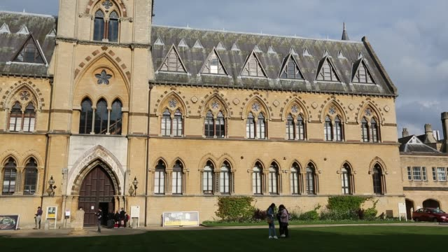 the university museum or oxford natural histroy museum, oxford, uk. - oxford university stock videos & royalty-free footage