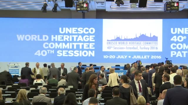 the uns cultural agency meets in istanbul to consider adding over two dozen new sites to its prestigious global heritage list and called for a strong... - unesco stock videos & royalty-free footage