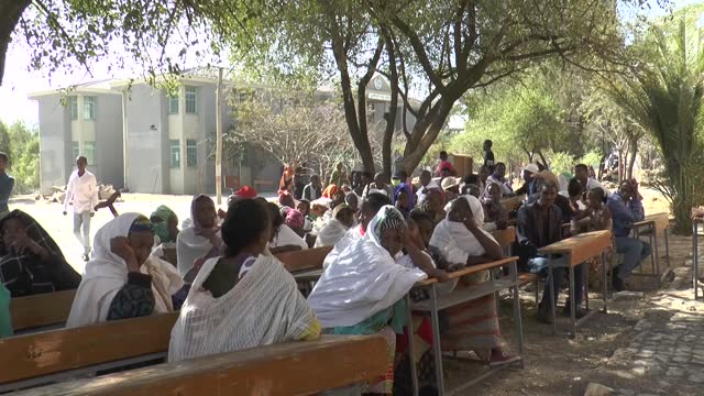 the us agency for international development on tuesday, mar. 9, distributed aid packages to those who took refuge in the city of mekele after... - jurassic stock videos & royalty-free footage
