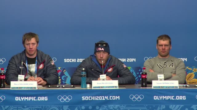 the us alpine skiing team says they're concentrating on the competition rather than the politics in sochi, whilst getting used to competing without... - alpine skiing stock videos & royalty-free footage