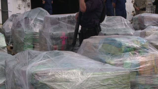 KSWB The US Coast Guard confiscated 18tons of drugs worth more than $500 million dollars