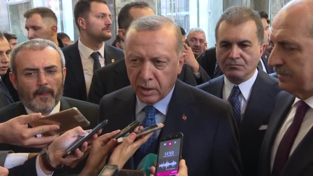 the u.s. has done its part by deciding to withdraw its troops from syria, turkey's president said on tuesday. speaking to reporters, recep tayyip... - recep tayyip erdoğan stock videos & royalty-free footage