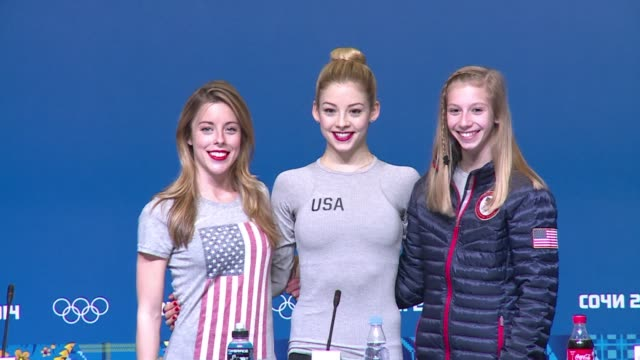 The US ladies figure skating team prepares to take to the ice in Wednesday's short programme CLEAN Olympics US figure skater Wagner says judg on...