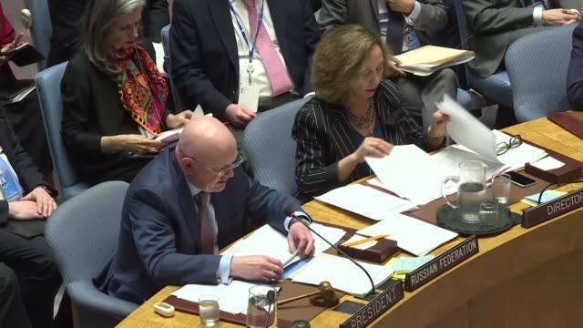 the us on friday vetoed a un security council resolution on the protection of palestinians ten countries voted in favor while the uk poland the... - juni bildbanksvideor och videomaterial från bakom kulisserna