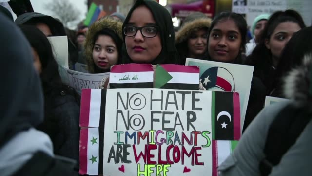 The US Supreme Court announces is will hear a challenge to Trump's latest travel ban which blocks entry to the United States for most people from six...
