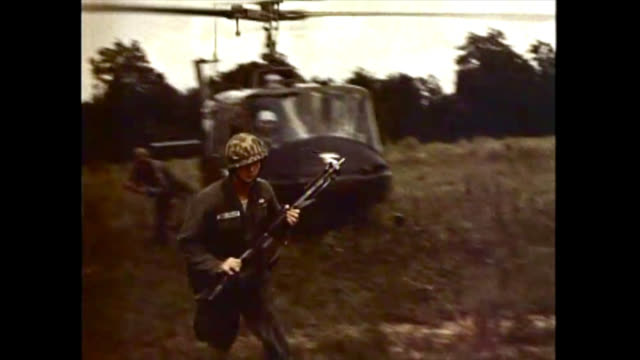 stockvideo's en b-roll-footage met various military images including planes launching missiles, soldiers in viet nam, and aircraft carriers. b-roll historical footage from a pentagon... - virginia amerikaanse staat