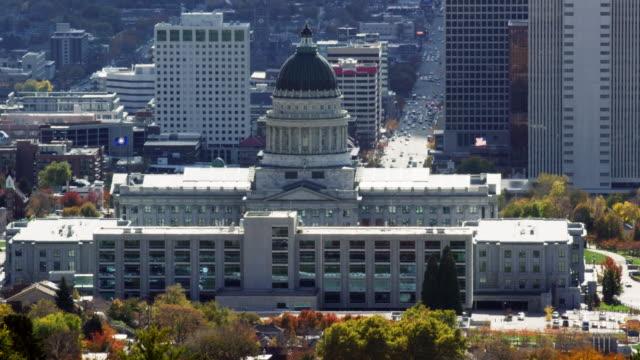 The Utah State Capital Building in Downtown Salt Lake City, Utah