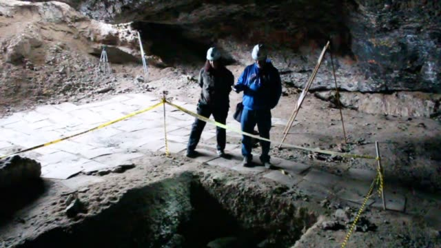 kstu the utah state park danger caves are closed to the public because as federal research institutions they are protected archeological sites - prehistoric art stock videos & royalty-free footage