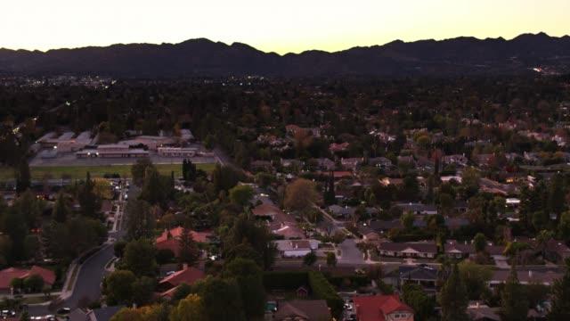 The Valley, Los Angeles - Aerial Establisher