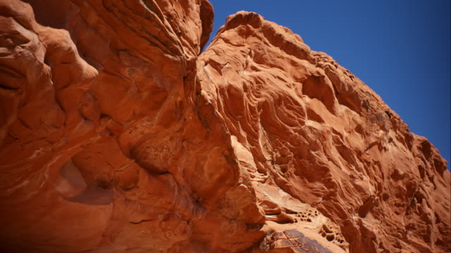 the valley of fire - nevada - red rocks stock videos & royalty-free footage