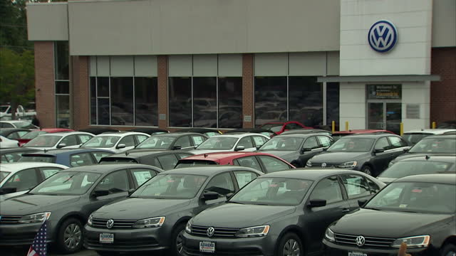 The value of the car maker Volkswagen slumped by nearly 20 per cent today after it admitted cheating American emission tests over a period of years...
