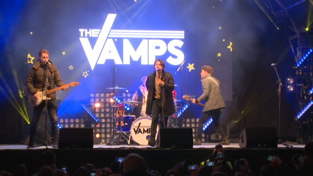 The Vamps at Oxford Street on November 06 2016 in London England