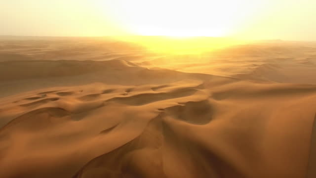 The vastness of the desert
