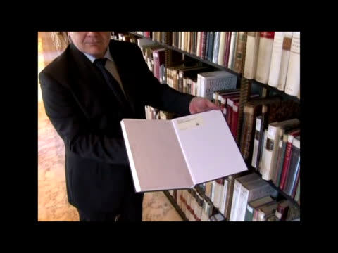 the vatican apostolic library is opening its doors after three years of reconstruction rome italy - state of the vatican city stock videos & royalty-free footage