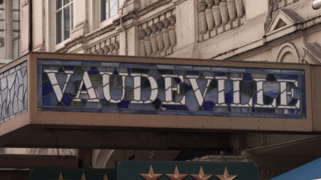 The Vaudeville Theatre in London