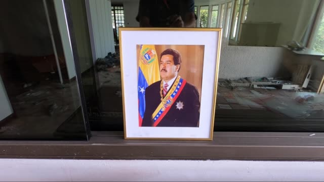 COL: Damages On Venezuelan Consulate In Colombia After Looting