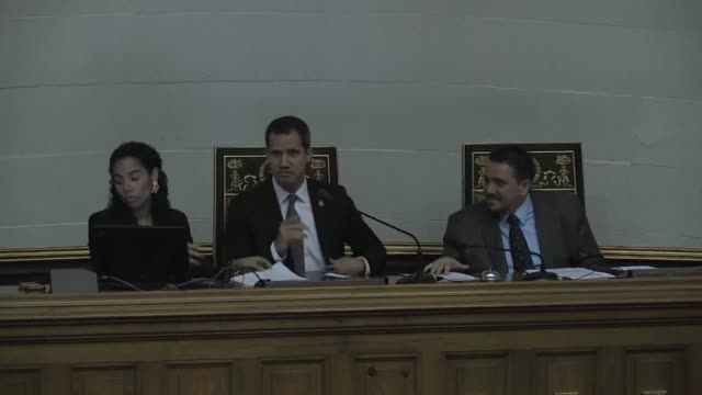 the venezuelan national assembly holds a session to discuss the death in custody of navy captain rafael acosta arevalo accused of plotting to... - defendant stock videos & royalty-free footage