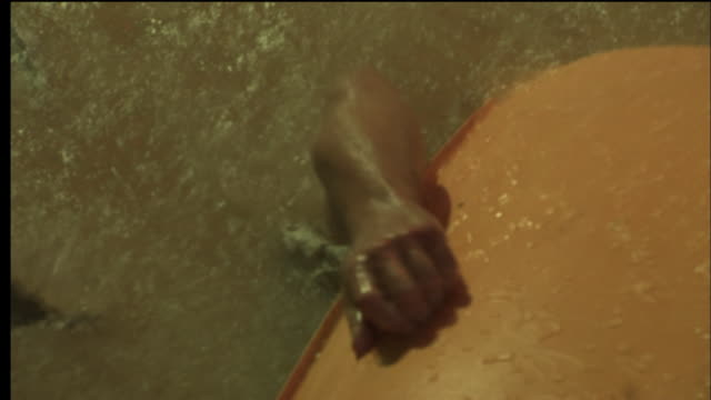 vídeos de stock, filmes e b-roll de the victim of an auto accident tries to escape a sinking vehicle. - reconstituição histórica