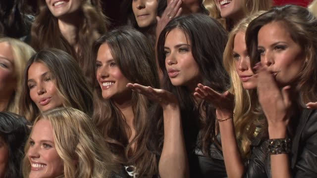 the victoria's secret fashion show preview, new york, ny, 11/9/10 - fashion show stock videos & royalty-free footage