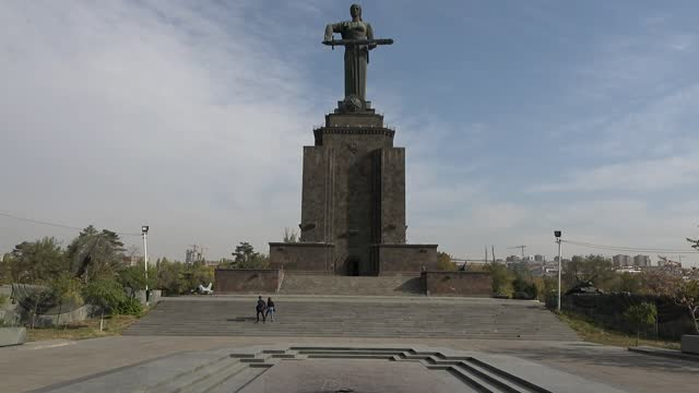 the victory park in yerevan - 1967 stock videos & royalty-free footage