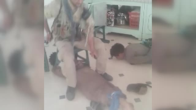 the video has showed pkk/pyd terrorists while torturing civilians in raqqah province in northeastern syria obtained by an anadolu agency reporter the... - torture stock videos & royalty-free footage