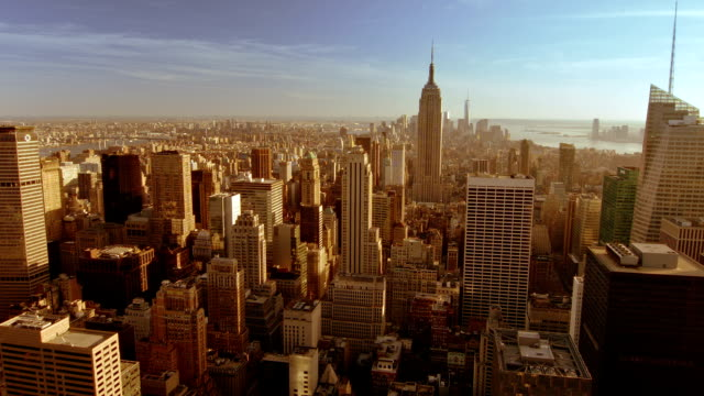 the view of new york - 42nd street stock videos & royalty-free footage